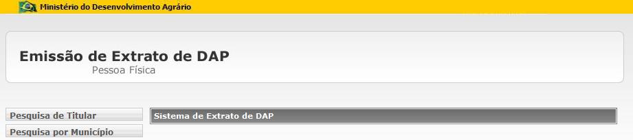 Extrato DAP